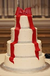 wedding cake without sugar - traditional fondant