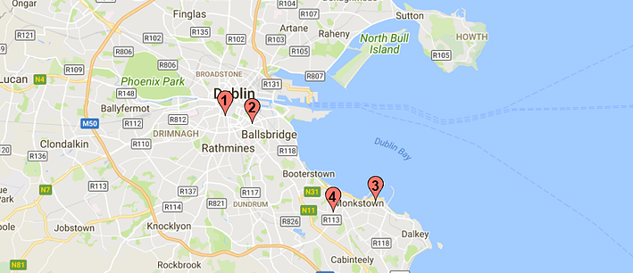 where to find sugar-free wedding cakes in ireland map