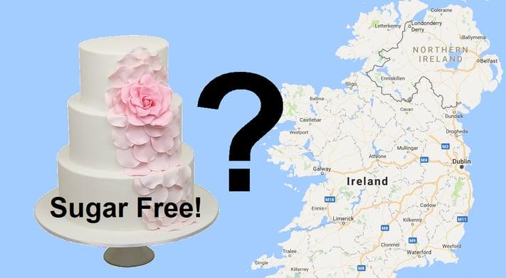 where find sugar free wedding cakes ireland