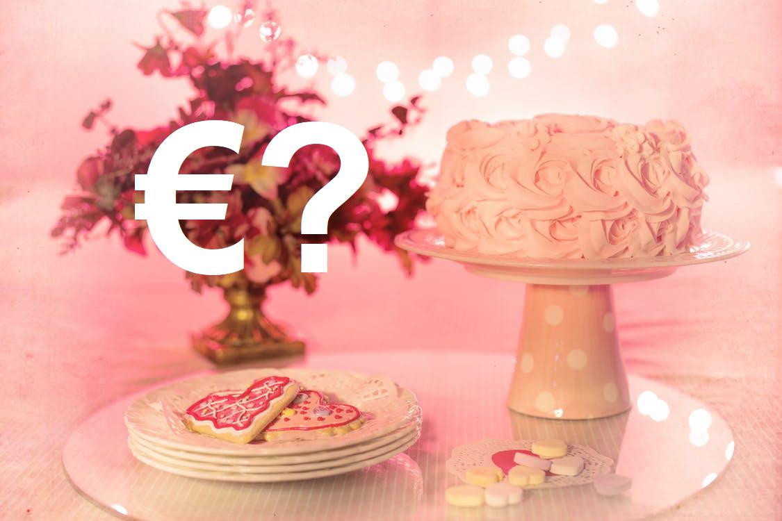 Wedding budget: cake prices in Ireland