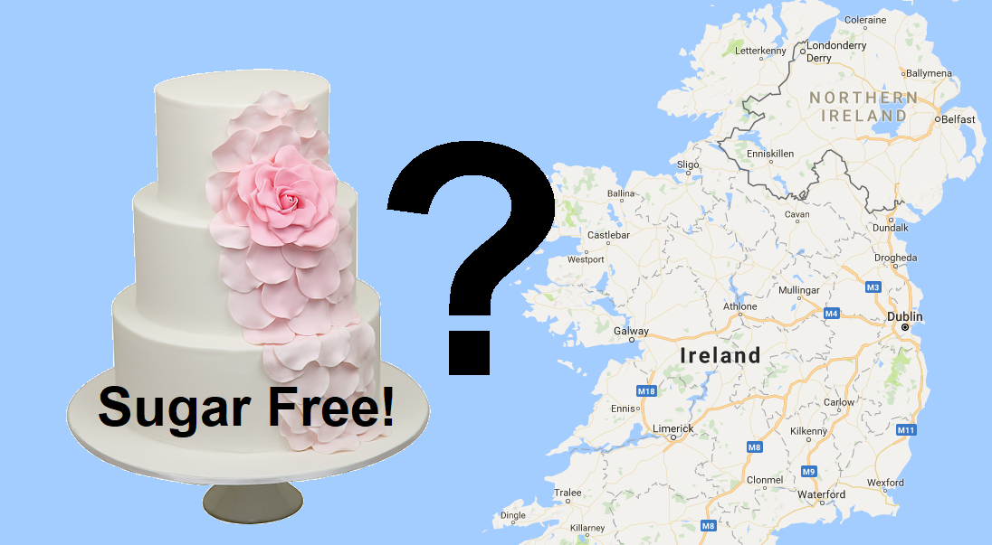where to find sugar free wedding cakes in ireland. Black Bedroom Furniture Sets. Home Design Ideas